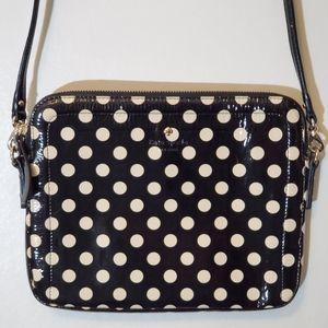 Kate Spade Carlisle Street Bryce black/beige purse